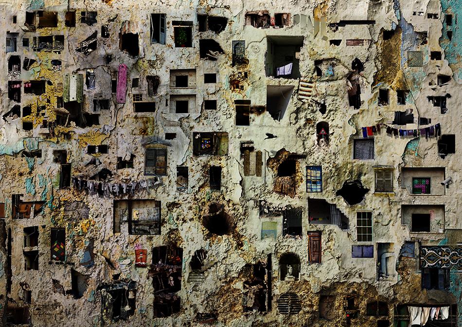 The Place. Foto / Collage von Tammam Azzam