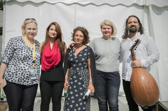 Barbara Heine-Schumann, Widad Nabi, Adriana Altaras, Ines Kappert, Wassim Mukdad
