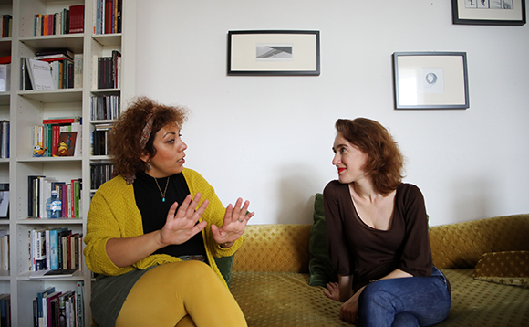 Rasha und Nora. Foto: Stefanie Kulisch