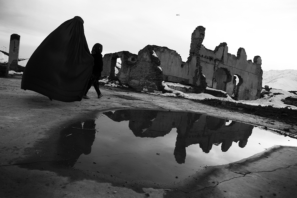 Fotografie: Rada Akbar / The Footprint of War