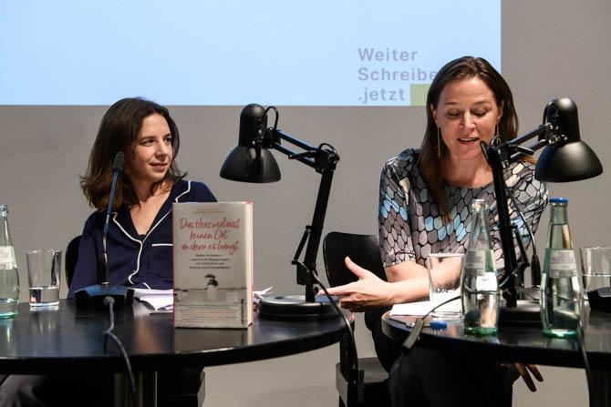 Buchpremiere Weiterschreiben. Foto: Piero Chiussi
