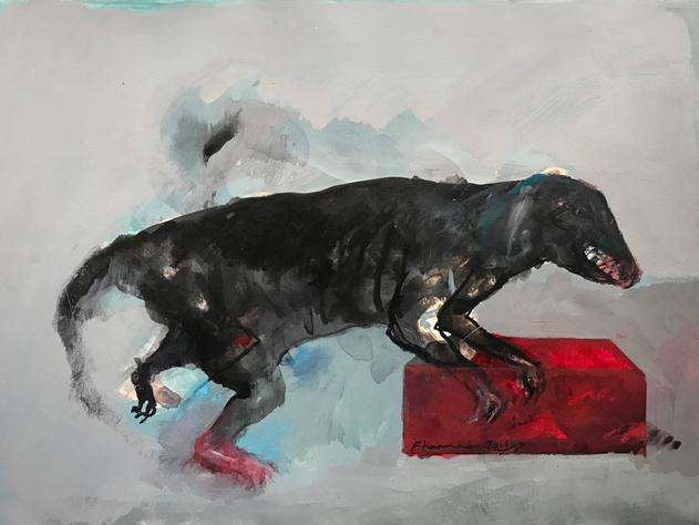 Bild zu: Ein letztes Glas mit dem Wolf