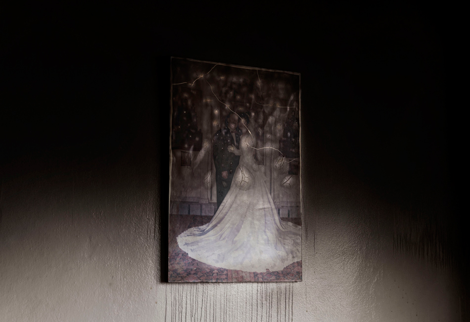 Fotografie: Carole Alfarah (2014), Titel: My beloved broken Home