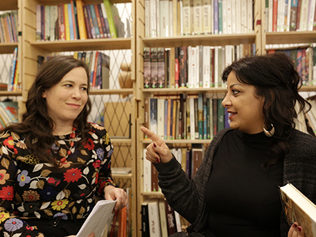 Weiter Schreiben Lesung / Ulla Lenze und Rabab Haider
