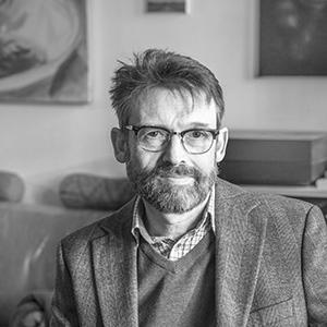 Portrait von Christoph Peters. Foto: Mila Teshaieva
