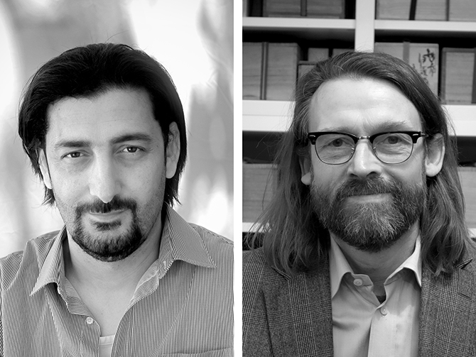 Lesung mit Abdullah Alqaseer und Christoph Peters