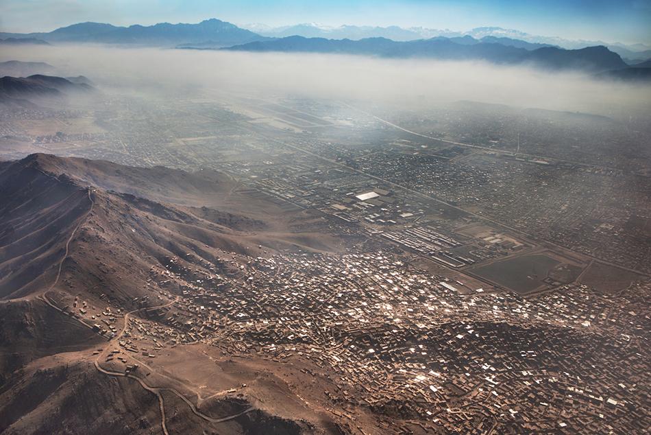 Leila Ahmadzai, Landschaft um Kabul, Fotografie (2013)