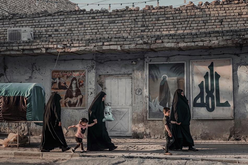 Mariam Al-Attar, Sabine Scholl, Briefwechsel, Irak, (W)ortwechseln