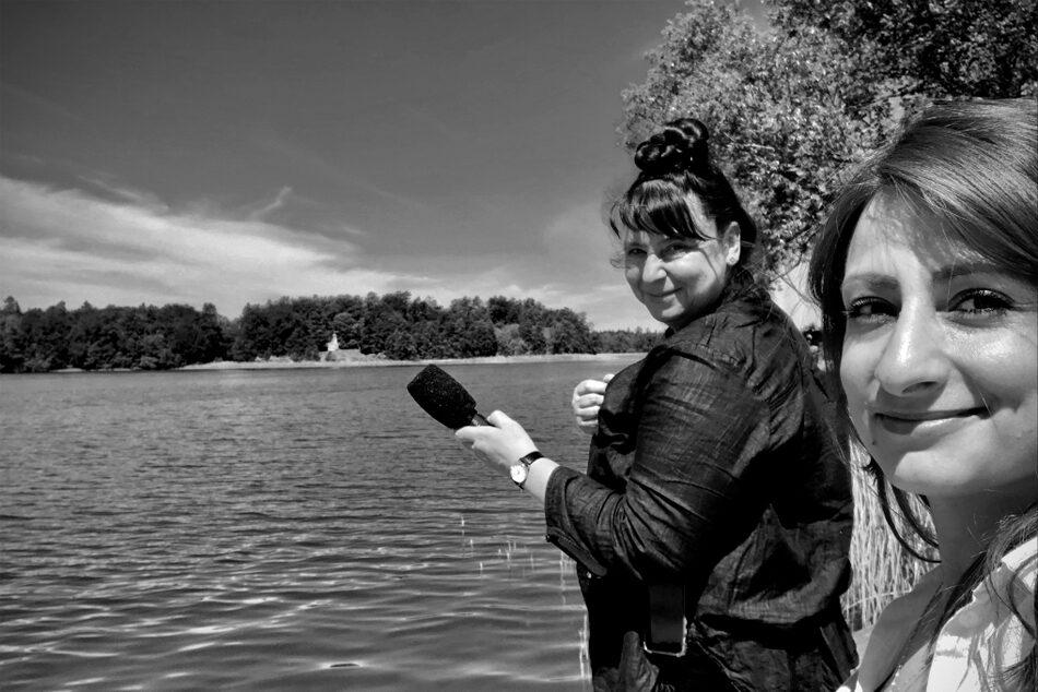 Podcast_Twitter_(W)Ortwechseln, Für eine andere Zeit, Podcast,Annett Groeschner, Widad Nabi