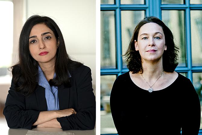 (W)Ortwechseln im Literaturhaus Berlin: Lesung und Gespräch mit Pegah Ahmadi und Monika Rinck