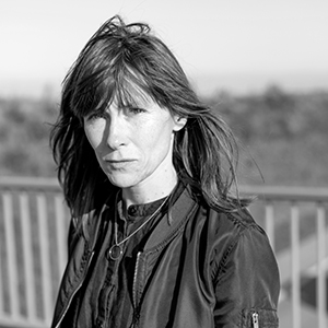 Porträtbild von Heike Geißler @ Adrian Sauer