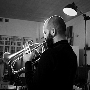Der Musiker Milan Khawam © Johanna Makowski